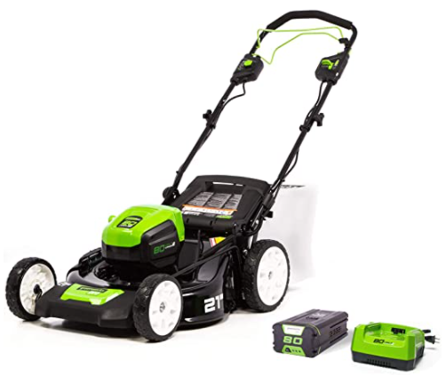 Greenworks 40V 21 Brushless (Smart Pace) Self-Propelled Lawn Mower