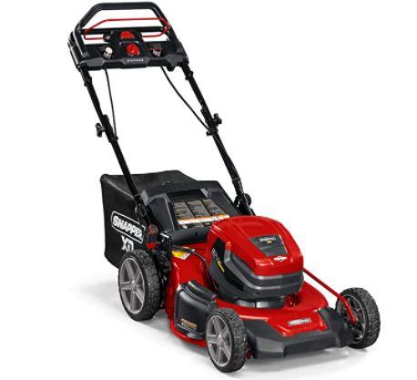 Snapper XD 82V MAX Step Sense Cordless Electric 21-Inch Lawn Mower