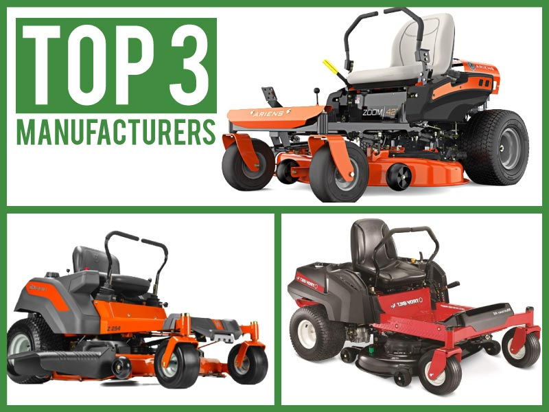 who makes the best zero turn mowers