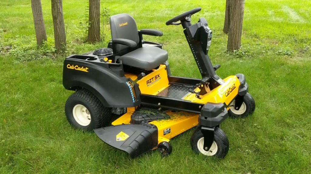 Cub Cadet Zero Turn Mowers with Steering Wheel