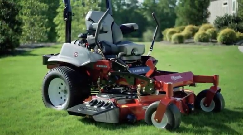 ExMark Suspension Mower