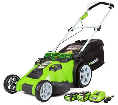 G-Max 20-Inch 40V Cordless Push Lawn mower