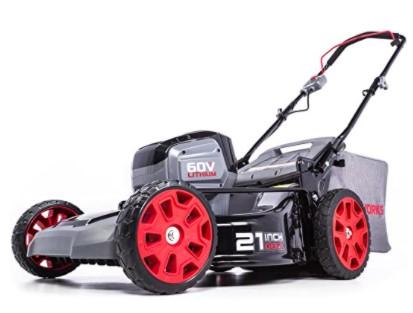 POWERWORKS 60V 21-inch Brushless Push Mower