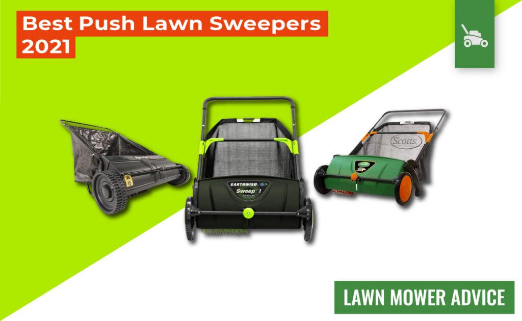best push lawn sweeper