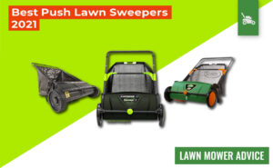 7 Best Push Lawn Sweepers 2021