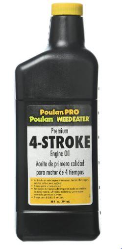 Poulan Pro Lawn Mower Engine Oil
