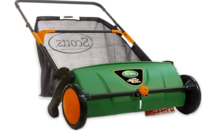 Scotts LSW70026S 26-inch Push Lawn Sweeper
